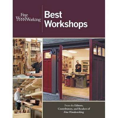 Best Workshops - (Fine Woodworking) by  Editors of Fine Woodworking (Paperback)