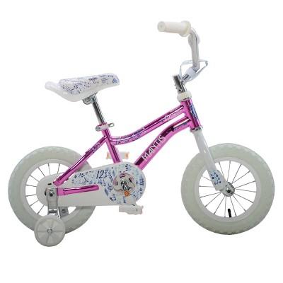 """Mantis 12"""" Kids' Bike - Pink"""