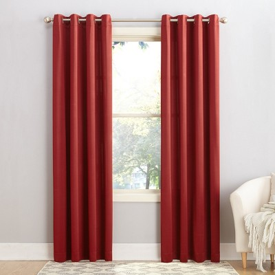 Seymour Grommet Top Room Darkening Window Curtain Panels - Sun Zero