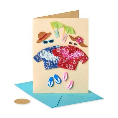 Hawaian Couple Card - PAPYRUS