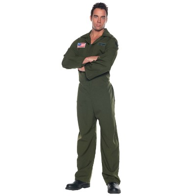 Adult Airforce Jumpsuit Halloween Costume One Size