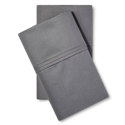 Threshold™ Performance 400 Thread Count Pillowcase Dark Gray - (King)