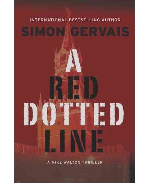 Red Dotted Line (Reprint) (Paperback) (Simon Gervais) - image 1 of 1