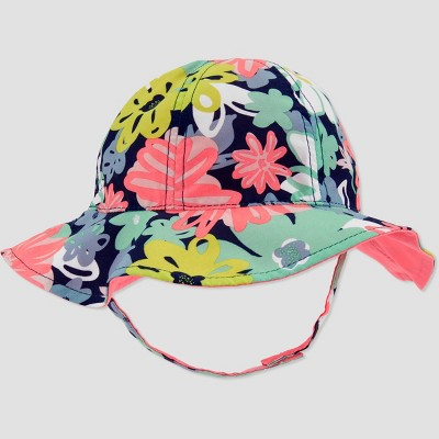 Baby Girls' Floral Bucket Hat - Just One You® made by carter's Pink 6-12M