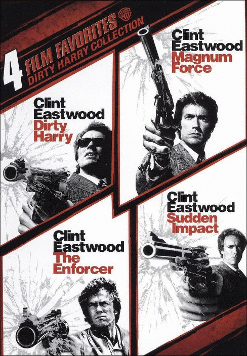 Dirty Harry Collection: 4 Film Favorites [2 Discs] - image 1 of 1