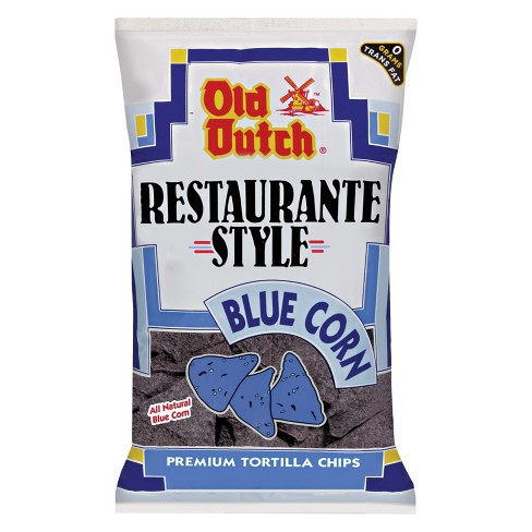 Old Dutch Restaurante Style Blue Corn Tortilla Chips - 13oz - image 1 of 1