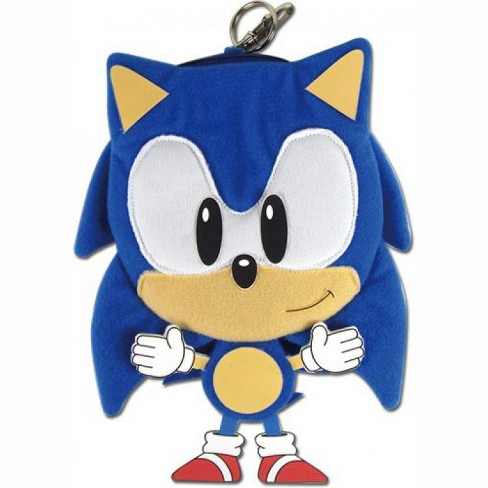 Sonic The Hedgehog 7 Inch Plush Coin Purse Target