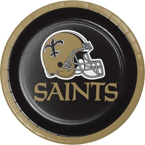 8ct New Orleans Saints Dessert Plates - image 1 of 1