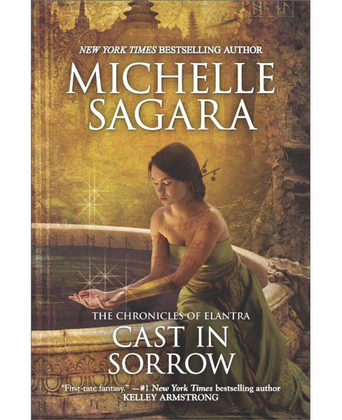 Cast in Sorrow -  (The Chronicles of Elantra) by Michelle Sagara (Paperback) - image 1 of 1