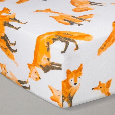 Crib Fitted Sheet - Cloud Island™ Foxes