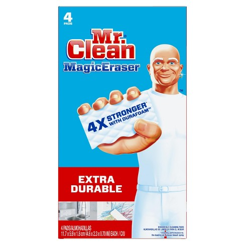 Mr. Clean Magic Eraser Extra Durable with Durafoam - 4ct - image 1 of 7