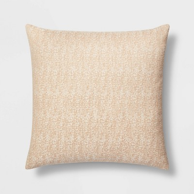 Oversized Square Woven Pillow Neutral - Project 62™