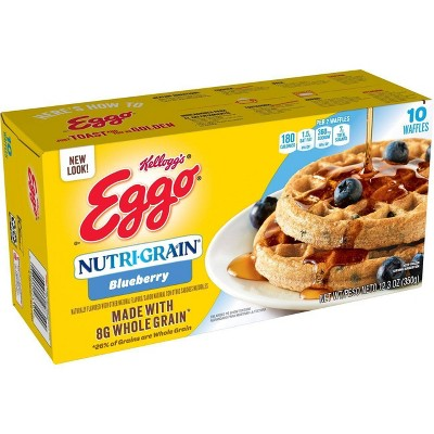 Kellogg's Eggo Nutri-Grain Blueberry Frozen Waffles - 12.3oz/10ct