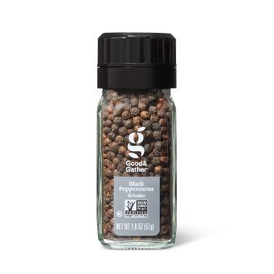 Black Peppercorn Grinder - 1.8oz - Good & Gather™