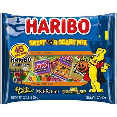 Haribo Halloween Sweet or Scary Mix - 21.1oz/45ct
