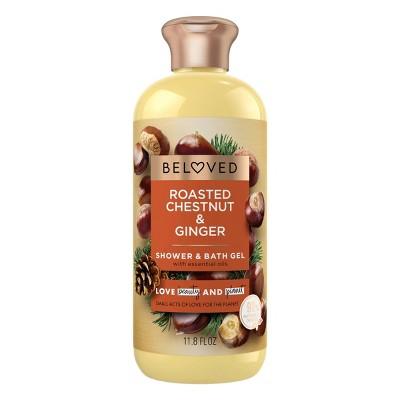 Beloved Roasted Chestnuts & Ginger Shower & Bath Gels - 11.8 fl oz