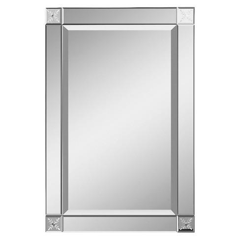 Rectangle Emberlynn Frameless Decorative Wall Mirror - Uttermost - image 1 of 2