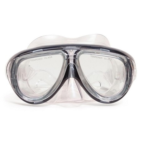 """Telstar Pro Goggle Mask Swimming Pool Accessory for Teen/Adults 6.5"""" - Black - image 1 of 1"""