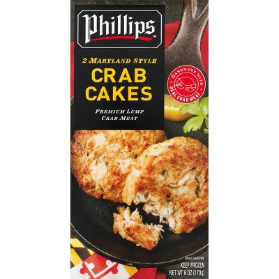 Phillips Frozen Crab Cakes - 6oz