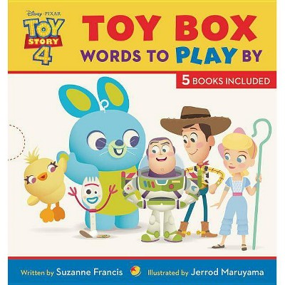 Toy Story 4 Toy Box : Words to Play by - by Suzanne Francis (Hardcover)