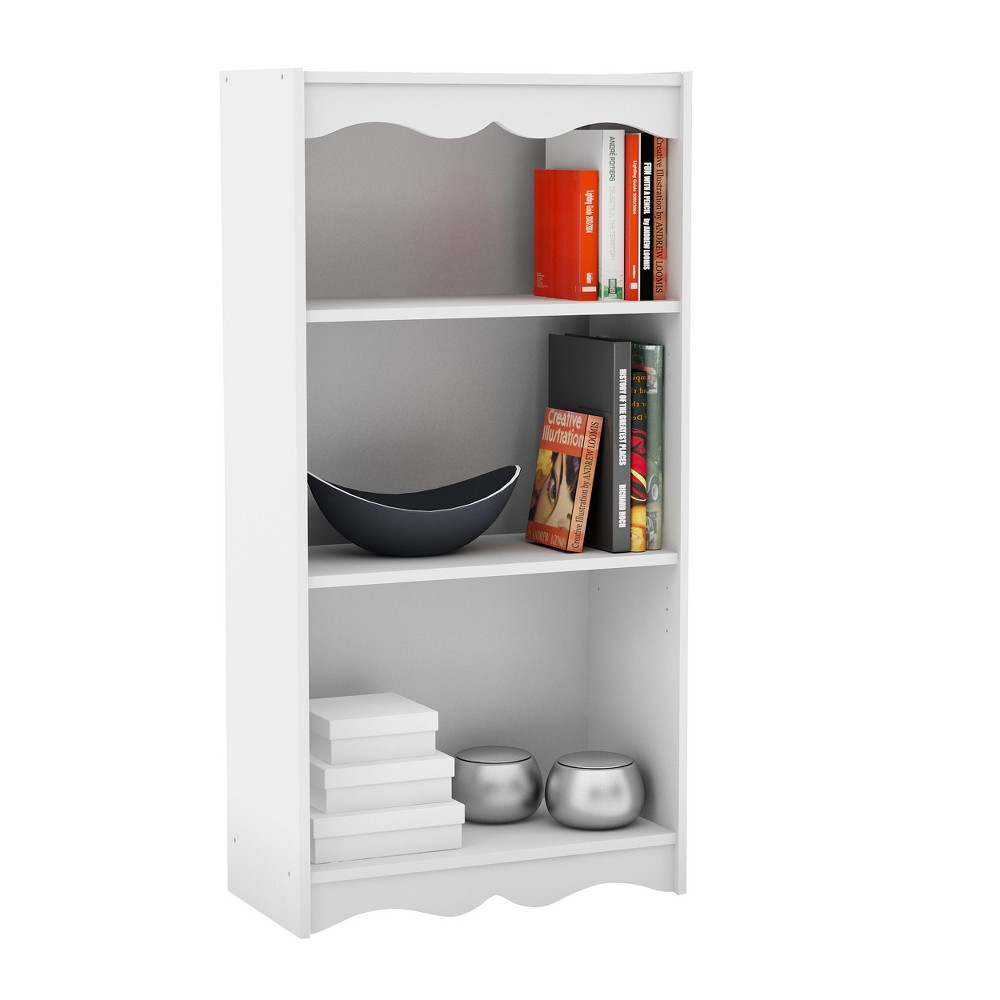 """Image of """"48"""""""" Hawthorn Tall Bookcase White - Corliving"""""""