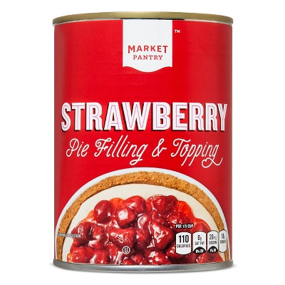Strawberry Pie Filling or Topping - 21oz - Market Pantry™