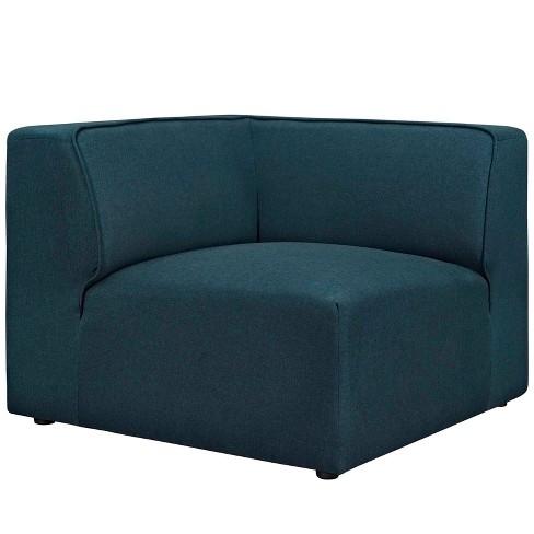 Mingle Corner Sofa Blue - Modway