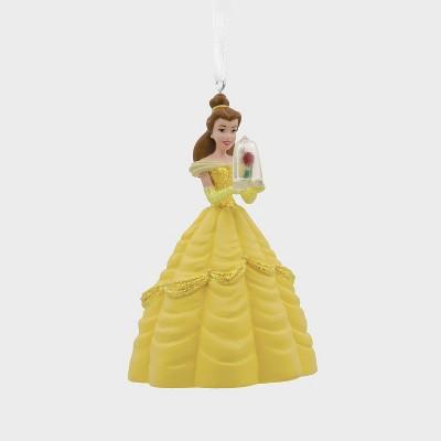 Hallmark Disney Beauty & the Beast Belle with Rose Christmas Ornament