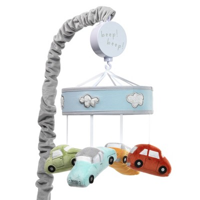 Lambs & Ivy Baby Car Tunes Musical Baby Crib Mobile Soother Toy