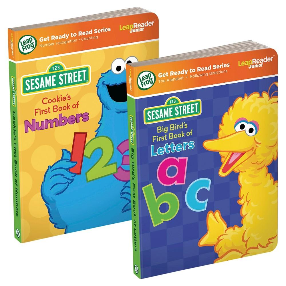 LeapFrog LeapReader Junior Sesame Street Book Value Pack