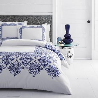 White Cora Comforter Set (King) - Azalea Skye