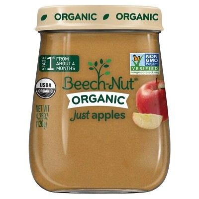 Beech-Nut Just Apples Stage 1 4.25oz