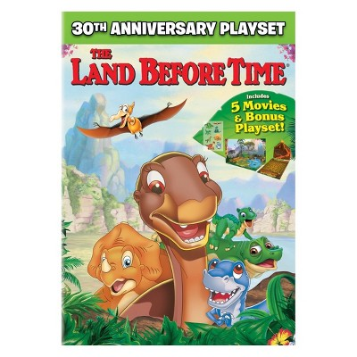 The Land Before Time 30th Anniversary Playset (DVD)