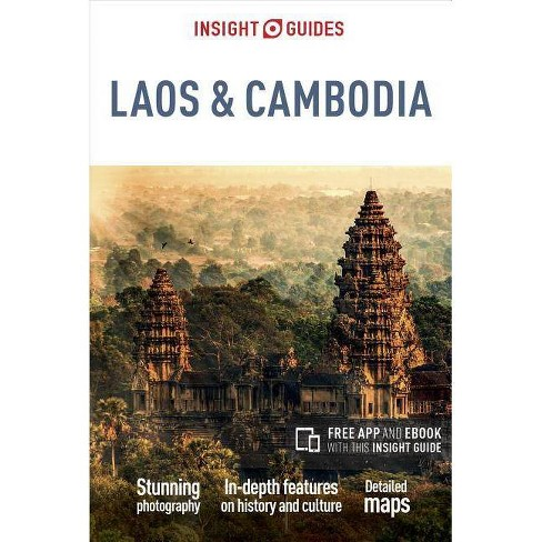Insight Guides Laos & Cambodia (Travel Guide with Free Ebook) - 4 Edition (Paperback) - image 1 of 1