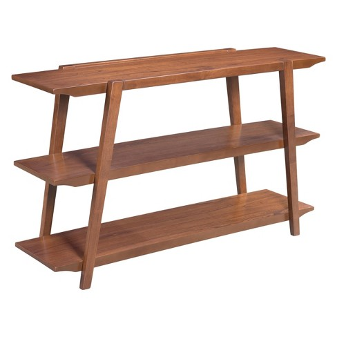 """50"""" Mid-Century Modern Console Table Walnut - ZM Home - image 1 of 5"""