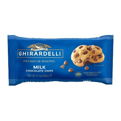 Ghirardelli Milk Chocolate Premium Baking Chips - 11.5oz