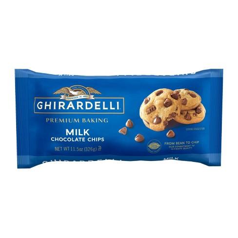 Ghirardelli Milk Chocolate Premium Baking Chips - 11.5oz - image 1 of 4