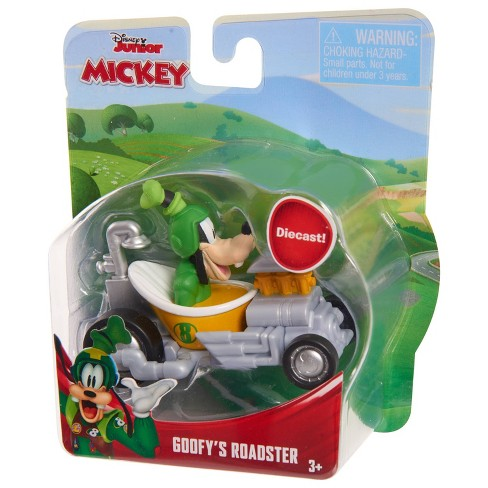 Disney Mickey Mouse Die Cast Vehicle - Goofy's Roadster - image 1 of 1
