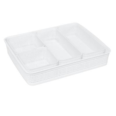 Simplify 5pk Organizing Set White