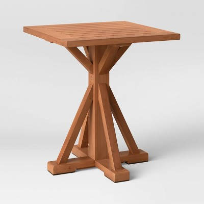 Morie Wood Patio Side Table - Threshold™
