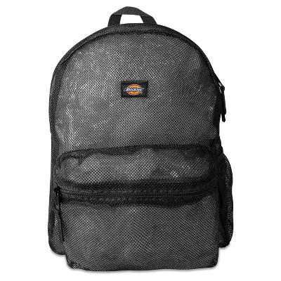 """Dickies 17"""" Mesh Backpack - Black"""