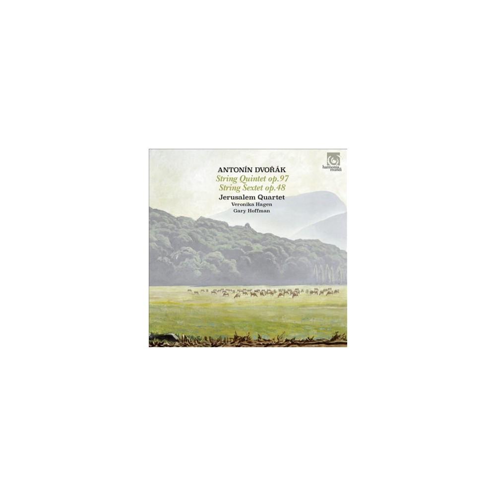 Jerusalem Quartet - Dvorak:String Quintet No 3/String Sex (CD)