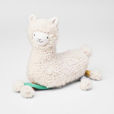Feathered Sherpa Plush Llama Stuffed Animal - Cloud Island™ - image 1 of 1