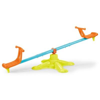 ECR4Kids Spinner Seesaw - Spinning 360 Degree Teeter-Totter for Kids for Backyard or Playground