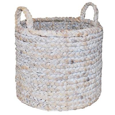 Decorative Basket White 16 x14.5  - Threshold™