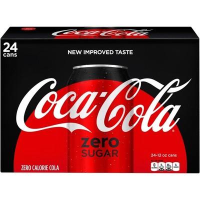Coca-Cola Zero Sugar - 24pk/12 fl oz Cans