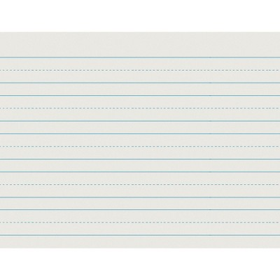 School Smart Composition Paper, Ruled Long Way, 11 x 8-1/2 Inches, 500 Sheets