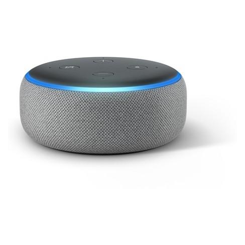 Amazon Echo Dot (3rd Generation) - Heather Gray - image 1 of 4