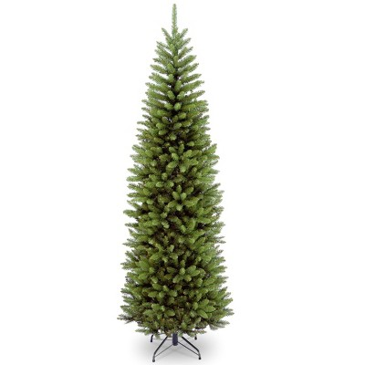 7.5ft National Christmas Tree Company Kingswood Fir Artificial Pencil Christmas Tree
