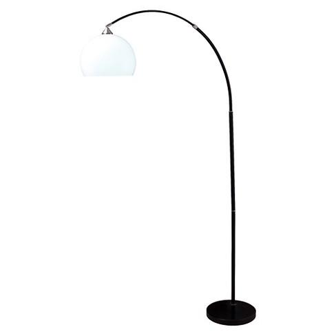 Modern Floor Lamp on Marble Base - image 1 of 1